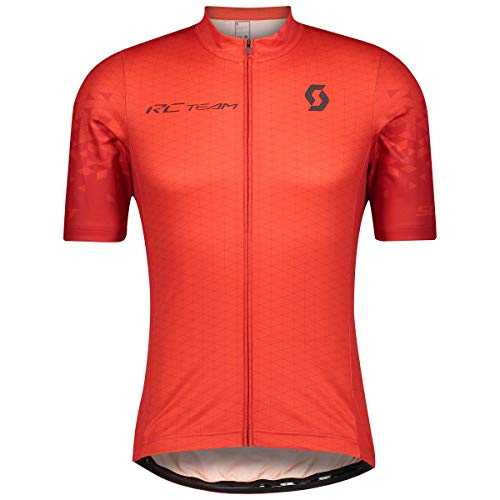 Scott RC Team 10 Fahrrad Trikot kurz rot 2021: Größe: M (46/48)
