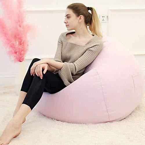 Nubao Toy, sacco divano con poltrona a sacco in memory foam, ultra morbido, per dormitorio, lettino da gioco e divano (colore: rosa, dimensioni: 100 x 120 cm)