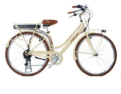 Cobran Bici elettrica retrò 2.1 (Panna)