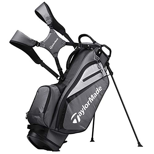 TaylorMade 2019 Golf Select Stand Bag Gray/Black