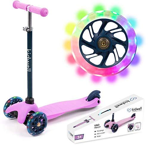 Kinderroller Tretroller Dreirad-Balance-Roller Kidwell UNO (LILA)