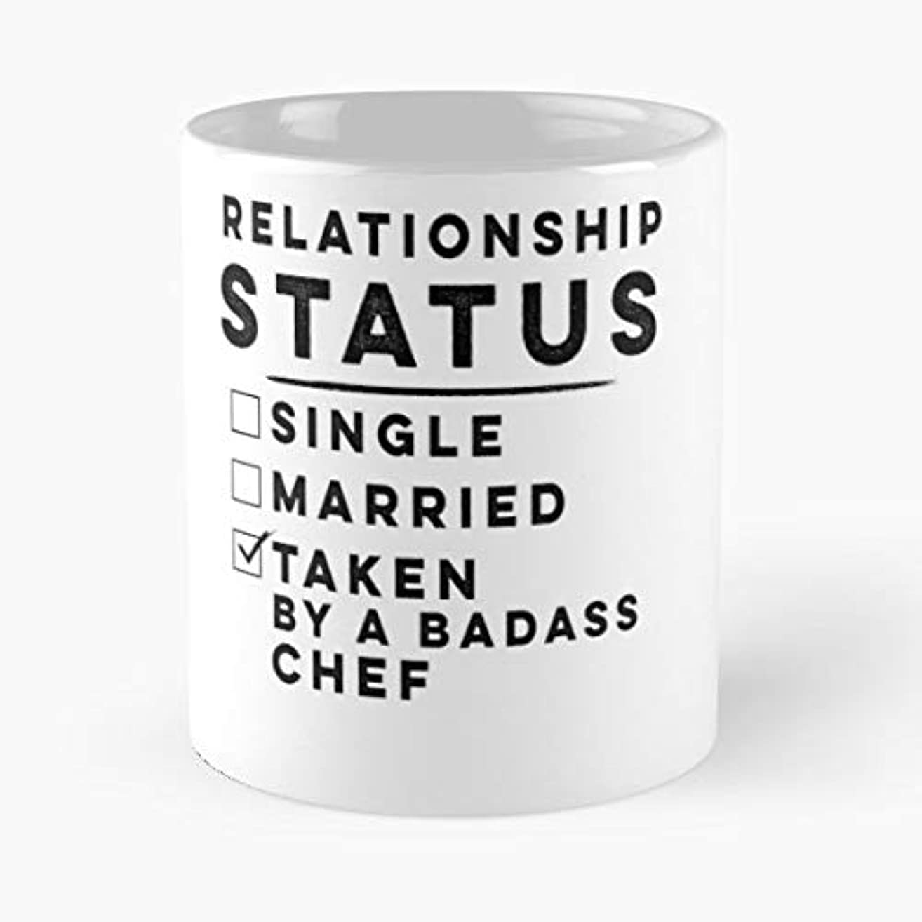 Chef Relationship Status Gifts Ceramic Coffee Mugs, Funny Gift