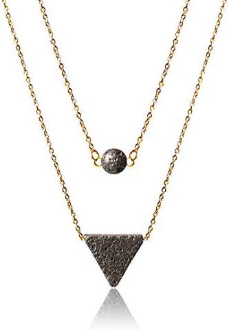 Top 10 Best lava rock necklace essential oil Reviews