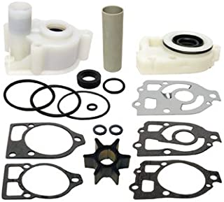 Full KIT for PRE Alpha Water with Sealed Base Plus Spare Complete Extra Internal Parts MERCRUISER Basic KIT with Plastic TOP and Base Plastic HOUSINGS + Spare Int Repair KIT 46-64141A11 OR 18-3321