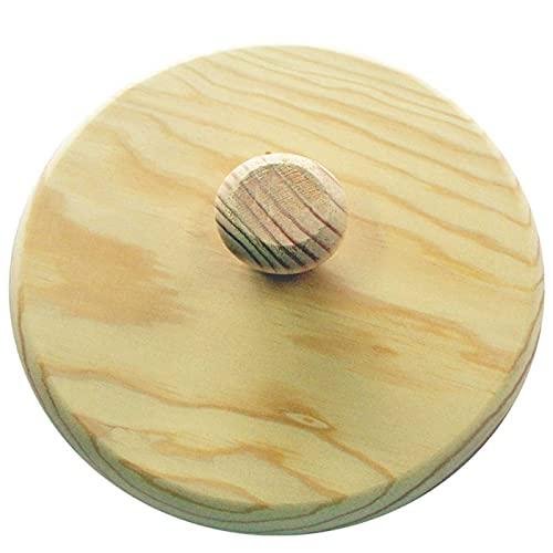 Artema - Plato giratortillas de Madera, diámetro 27,4 cm, Tapa volteatortillas para...