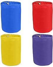 JURONG Paquete de 4 bolsas de burbujas, bolsa de filtro de 5 galones, bolsa de hash de burbujas de hielo herbal, bolsas de extracción con pantalla de presión y bolsa de transporte (4 colores)