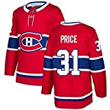 WANGT Camisetas De Hockey sobre Hielo, Equipo De Montreal # 15 KOTKANIEMI # 31 Precio # 92 Drouin # 6 Hombres Jersey De Hockey Bordado Sudaderas para Mujeres,31,XL