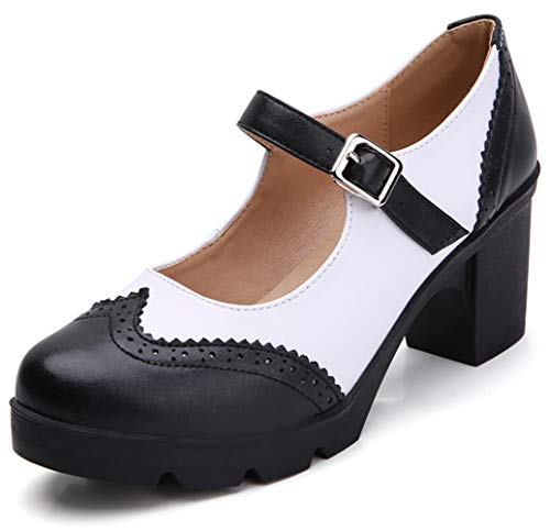 Top 10 best selling list for black and white dress shoes womens