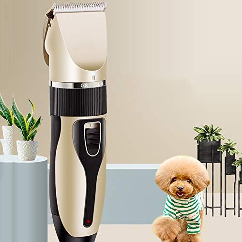 Hmyloz elektrische klok, USB-oplaadbaar, dierenverzorging, clippers, kattensnijmachine, scheerapparaat, elektrische schaarverwijderaar, haarknipper