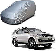 Cartwheel Car Cover for Toyota Fortuner Old Water Resistance with Strong Striched Fully Elastic Ultra Surface Body Protect...