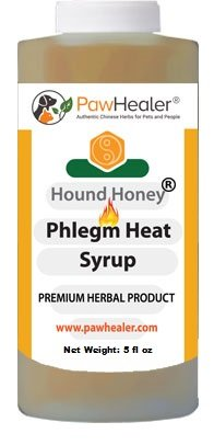 PawHealer Dog Cough Remedy-Hound Honey Syrup (Phlegm-Heat) - for Loud, Honking Coughs - 5 fl oz …
