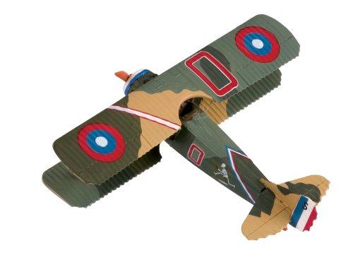 Corgi - AA37901 - Avion en Métal Livré avec Socle et Support - Spad S.XIII Captain Charles Biddle - échelle 1:48