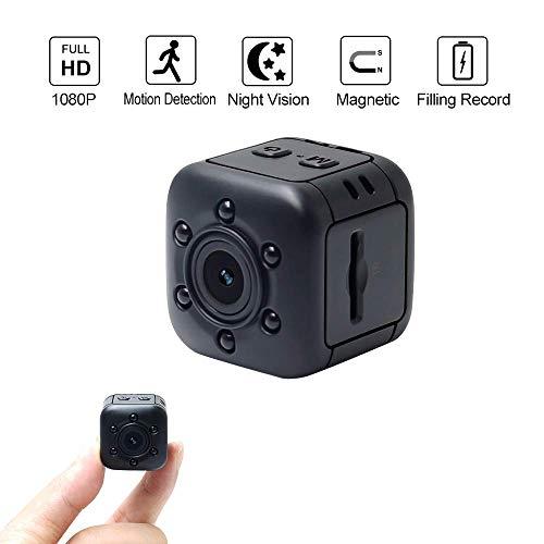 Cámara oculta 1080P HD, WIFI COP Cam visión nocturna y detección de movimiento, Nanny Cam incorporada vigilancia de seguridad magnética para el hogar, coche, Drone, al aire libre,Nomemorycard