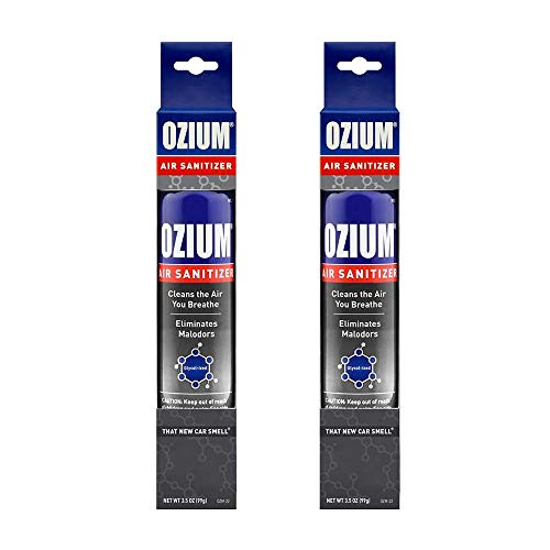 Ozium Air Sanitizer 3.5 oz Spray, That New Car Smell (2)