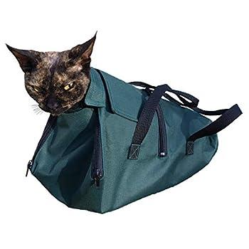 cat-or-dog.boutique Sac de Haute qualité pour Chat, Lapin: Toilettage, Retenue, Contention, Examens vétérinaires médicaux - 3 Tailles (2(M): 2-5kg)