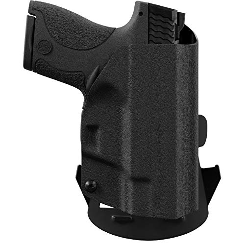 We The People Holsters - Black - Right Hand Outside Waistband Concealed Carry Kydex OWB Holster Compatible with CZ 2075 Rami