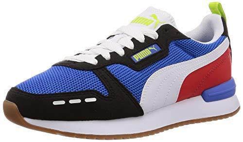 PUMA Unisex-Erwachsene R78 Sneaker, Blau Palace Blue Black White, 46 EU