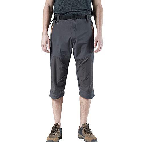DONNU PantalóN Corto De Talla Grande para Hombre, De Talla Grande, para Deportes Al Aire Libre, De Secado RáPido