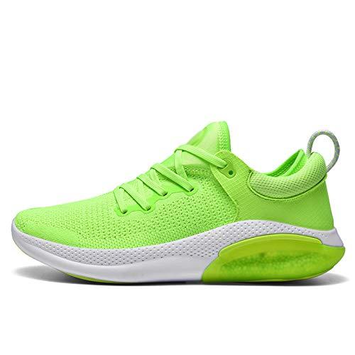 LJFZMD Zapatillas Deportivas,Casual Zapatos Zapatillas Para Mujer Malla Para Correr Zapatillas Sin Cordones Para Caminar Zapatillas Ligeras,A,EU39