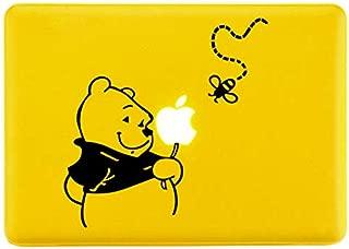 Winnie The Pooh Black SCI-FI/Comics/Games Laptop Skin Decal