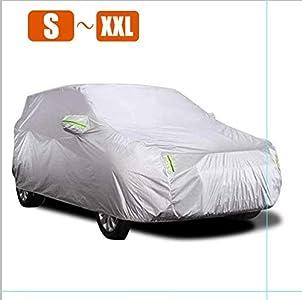 KKmoon Funda para Coche, Funda Coche Exterior, Cubierta coche Exterior, Antipolvo, Resistente a los aranazos (5,3 x 2,0 x1,5m)