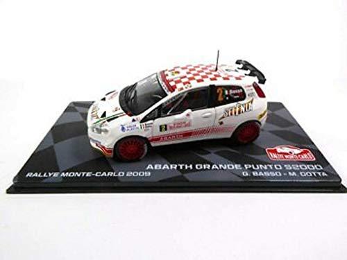 Fiat Abarth Grande Punto S2000 Rallye Monte-Carlo 2009 1/43 Eaglemoss