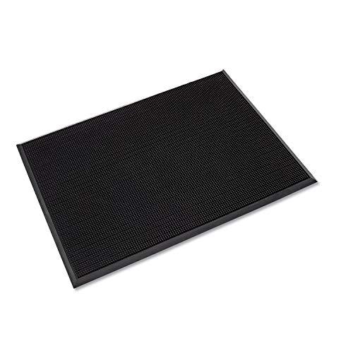 Mat-A-Dor Entrance/Antifatigue Mat, Rubber, 36 x 72, Black, Sold as 1 Each