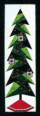 Foundation Paper Piecing Tall Trim The Tree Patterns ? 26 3/4