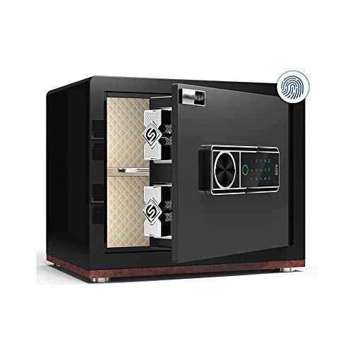 potente para casa Caja rápida inteligente con protección biométrica de huellas dactilares LKNJLL, caja fuerte …