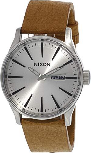 NIXON Reloj Analógico para Hombre de Cuarzo con Correa en Cuero A1052853