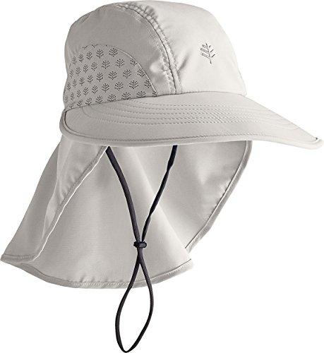 Coolibar UPF 50+ Chapeau de protection solaire pour enfant - Gris - S/M