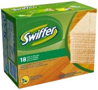 Swiffer–81296671–lingettes Holz und Parkett x 18–Lot de 2