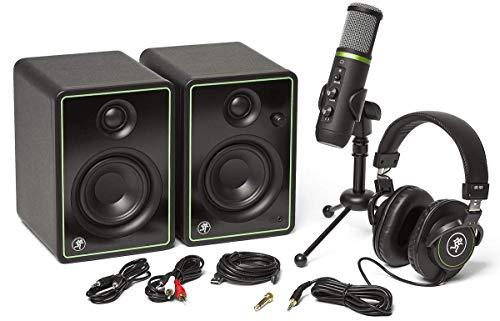 Pack Mackie Creator Bundle : Studio Monitor Aktivität CR3-X, micro, Kopfhörer