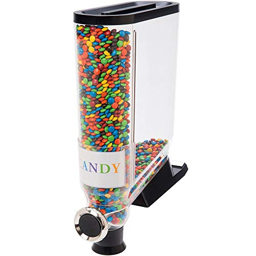 Lowest Prices! 13.3 Liter Single Canister Snack/Cereal Dispenser with Shelf-Mount Kit - 5 1/8 x 16 ...
