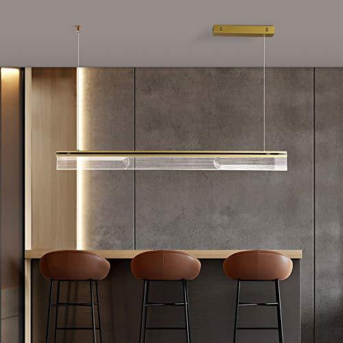 Vinteen LED araña acrílico luz de Techo Moderno el Nuevo Colgante luz luz de Lujo de Lujo araña Simplicidad Restaurante Luces Luces de Lujo de Lujo Franja Forma Mesa de Comedor Luces Colgantes