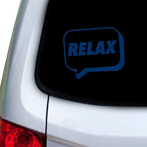 DKISEE Car and Auto Decal Series Relax Speech Bubble