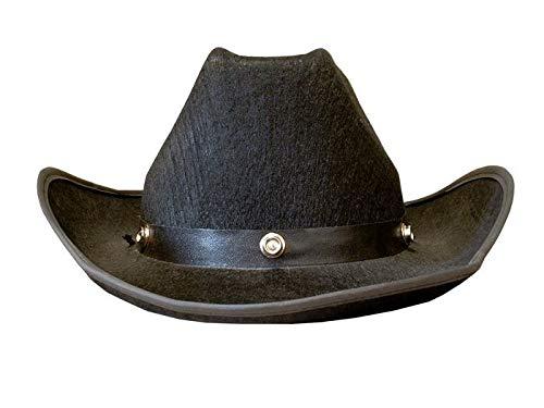 Chapeau Feutre Cow Boy Noir