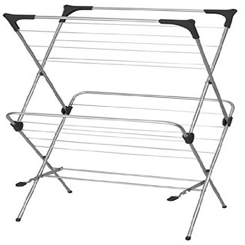 Home Basics 2Tier Clothes Dryer Drying Rack