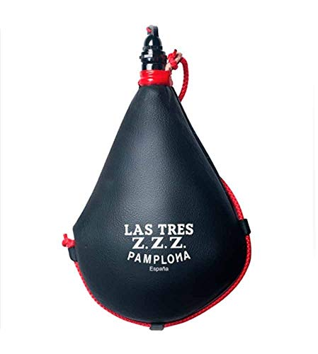 Las Tres Z.Z.Z. Bota de Vino Suprema de Latex Recta - 2 litros