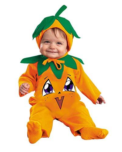 Horror-Shop Costume de bébé citrouille douce