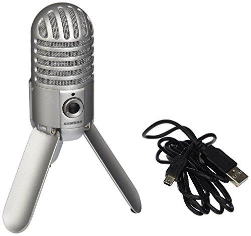 Samson Meteor Mic USB Studio Microphone (Brushed Nickel)