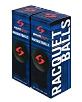 GearBox Racquetballs - Black 2 Boxes of 3 Balls