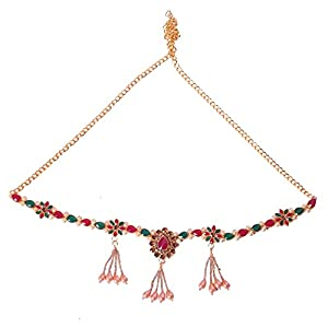 Diya Jewellery Traditional Design Gold Plated Kamarband for Womens and Girls (Multi-Color)