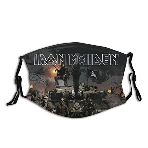 Saturn Iron-Maiden Mask Unisex Breathable Comfortable Dustproof Face Mask Made in USA