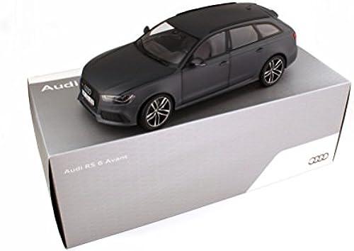 Minichamps Ma ab 1  18 013 di RS6 ant matt Modell Auto (grau)