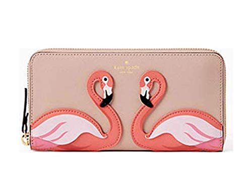 Kate Spade Flamingo By the Pool Large Continental Wallet
