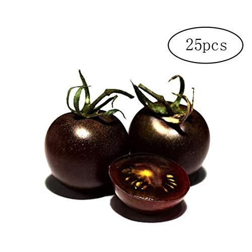 25 Stk Black Tomato Samen Bio-Fruchtpflanzsamen-Diy-Kits Wachsen Für Wachsende Kr?uter Innenaufnahme, Küche, Balkon