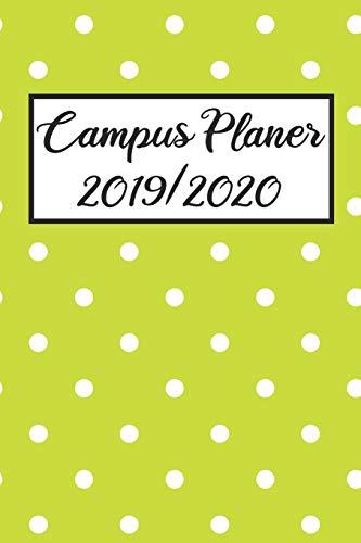 Campus Planer 2019/2020: Campustimer 2019 2020 | Studienplaner A5, Semesterkalender für Uni Studenten