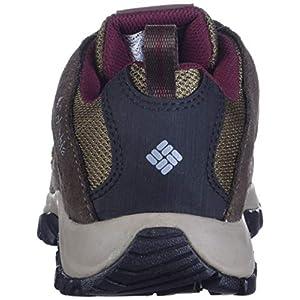 Columbia Women's Crestwood Waterproof Boot Hiking Shoe, Dark Truffle, Rich Wine, 9