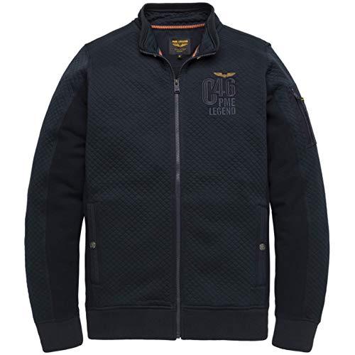 PME Legend Herren Sweatjacke Zipped Sweater blau - XL